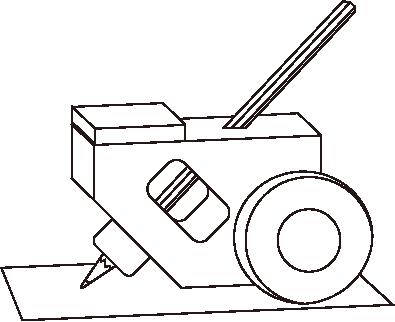 鉛筆引っ掻き試験器
